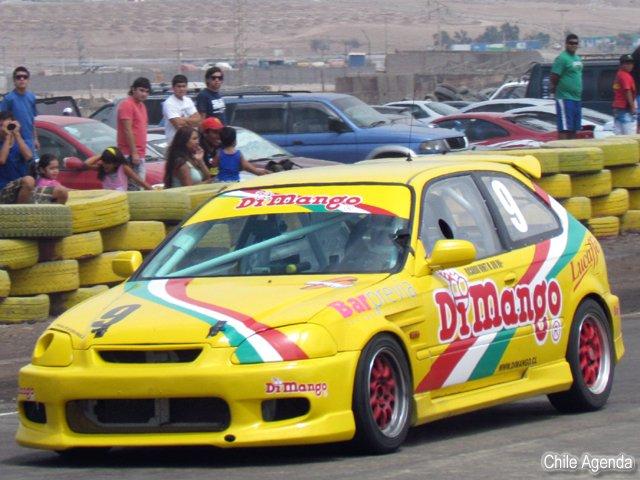 Arica presente en Automovilismo de Iquique