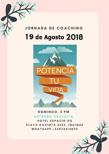 Anita Vatvani Jornada Coaching Potencia tu Vida