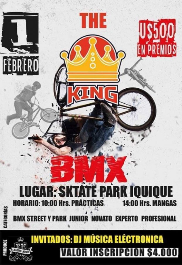 The King BMX 2020 Skate Park Iquique